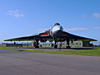 Vulcan XM607, gate guardian at RAF Waddington