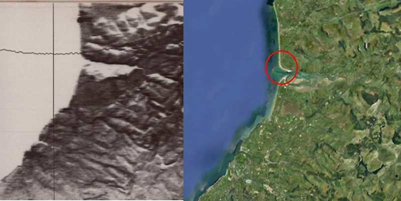 Figure 2.  The Dovey Estuary.